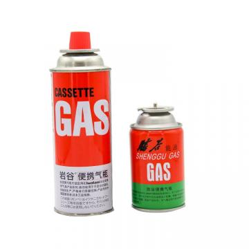 Butane Fuel Gas Canisters for portable camping stoves gas refill 300ml