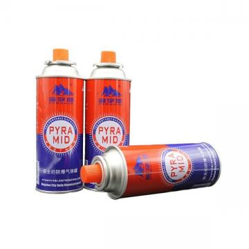 extra purified Butane lighter gas  refill for camping stove