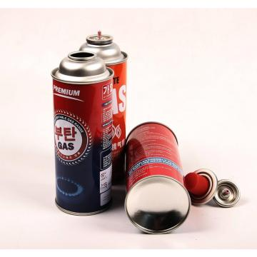 Round Shape Portable 227g Round Shape Portable butane gas cartridge and butane gas canister