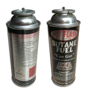Portable Butane Gas Canister for camping stove