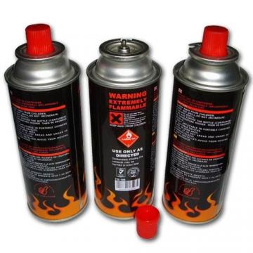 Heat Resistance Fuel Energy Empty Tinplate Safety Powerful Butane Gas Canister 220G