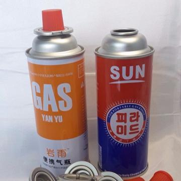 BBQ Fuel Cartridge Empty Camping gas butane propane gas cylinder 230g