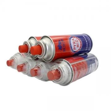 Scew type 450g butane gas canister cartridge can cylinder with Valve and Cap