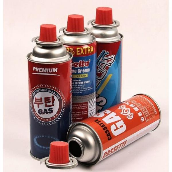 Manufacturer Wholesale New Sale Portable Bottled Empty Gas Spray Tin Cans for camp stove