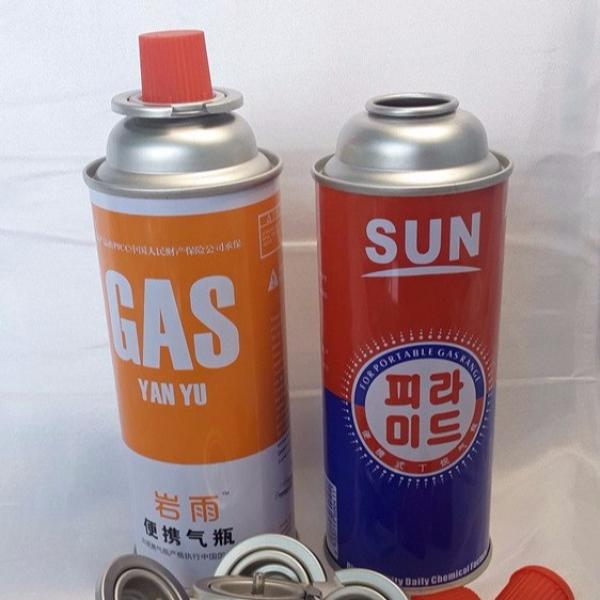Round Shape Portable Portable butane gas cooking cylinder for camping